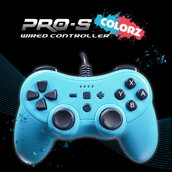 ProS Colorz Wired controller Switch Azzuro
